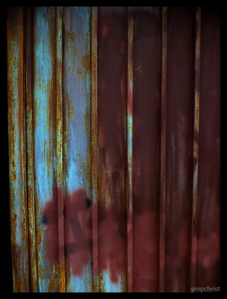 Rusted Gates Make Good Houseguests by gimpchrist