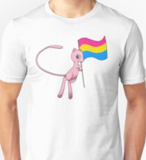 Mew supports you! (Pansexual version) T-Shirt