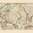 Map of Eastern Europe (1856) by allhistory