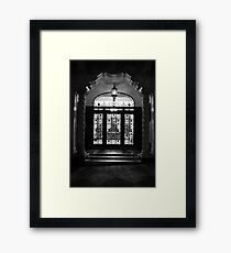 Architecture ~ San Francisco Style Framed Print