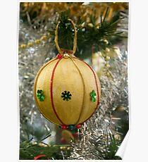 Handmade Christmas Decoration Poster