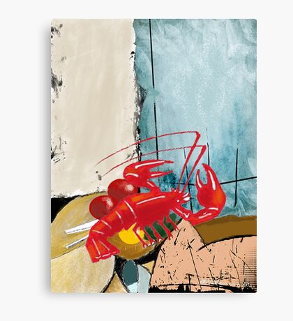 """Lobsterfest"" Canvas Print"