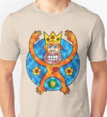Orange Ape King (Clouds) T-Shirt