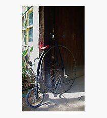 Penny Farthing Photographic Print
