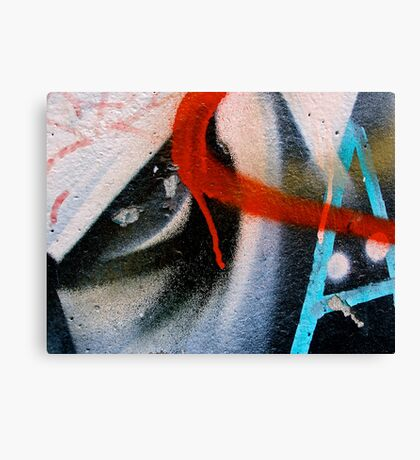 The Letter Eye Canvas Print