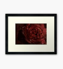 Blood Sweat And Tears.... Framed Print