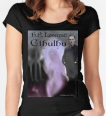 H.P. Lovecraft Cthulhu Fitted Scoop T-Shirt