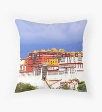 Potala Palace Throw Pillow