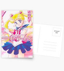 Sailor moon manga Postcards