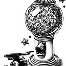 "Covens ""Gumball Machine"" Tattoo Design by RaincrowStudios"