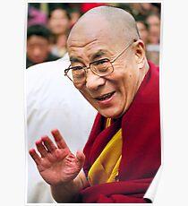 His Holiness the Dalai Lama. northern india Poster