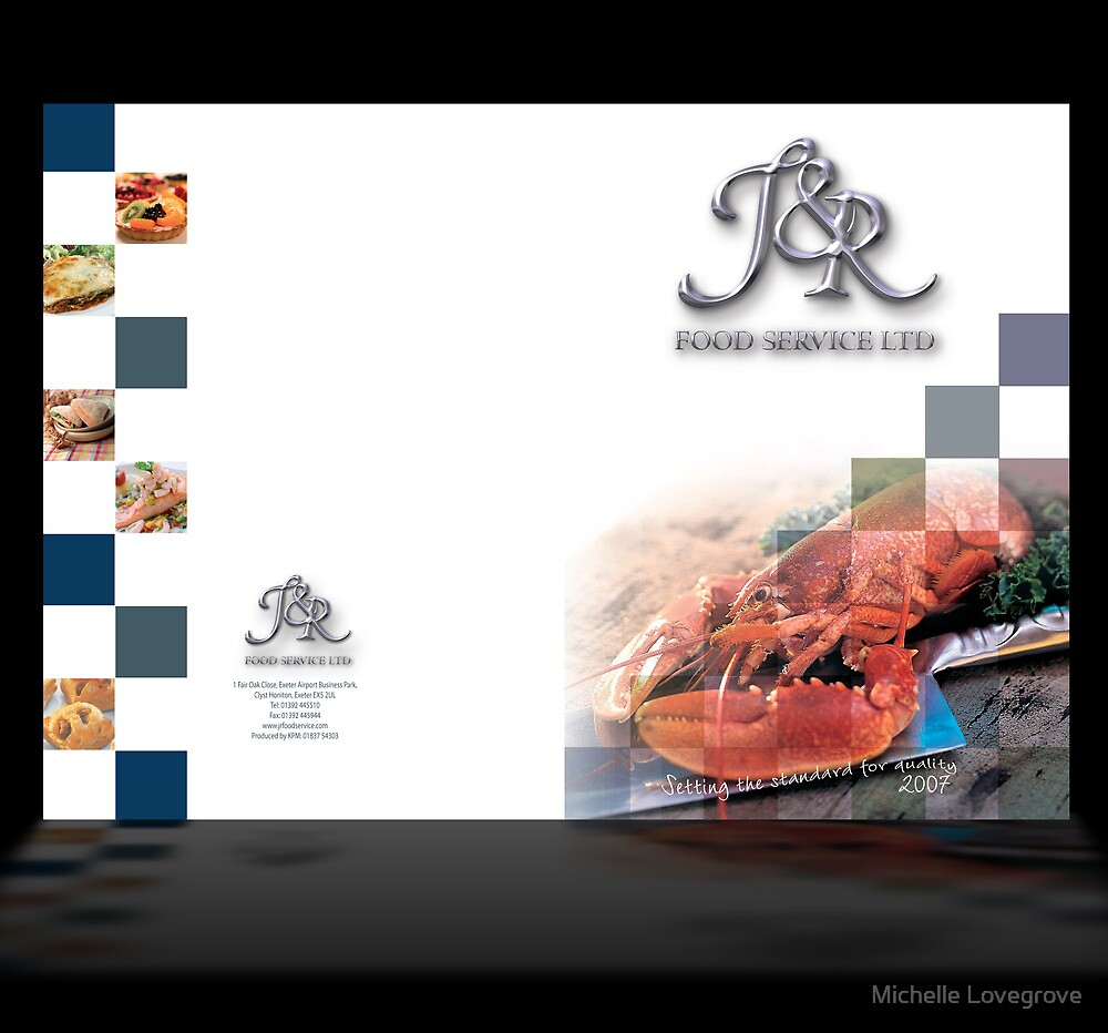 Trade Catalogue for J&R Food Service by Michelle Lovegrove