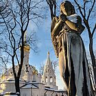 Weeping Angel in Moscow by opheliaautumn