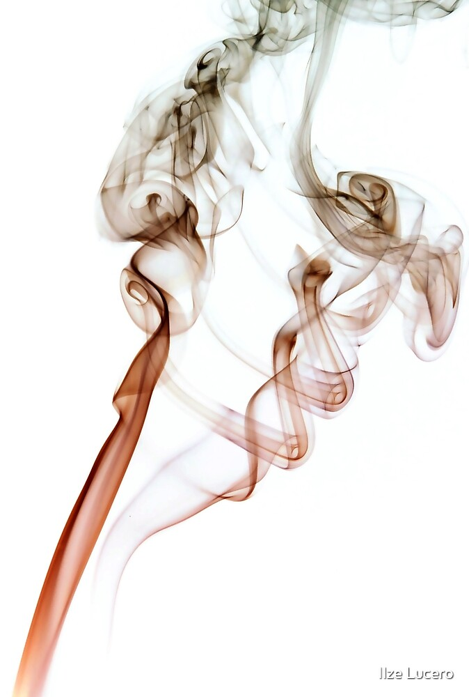 Abstract smoke by Ilze Lucero