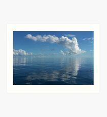 Billowing Clouds -  Cape York Art Print