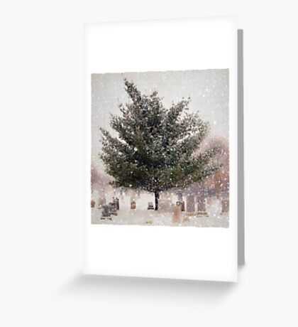 Snow is Silence Greeting Card