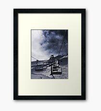 The Chairlift Framed Print
