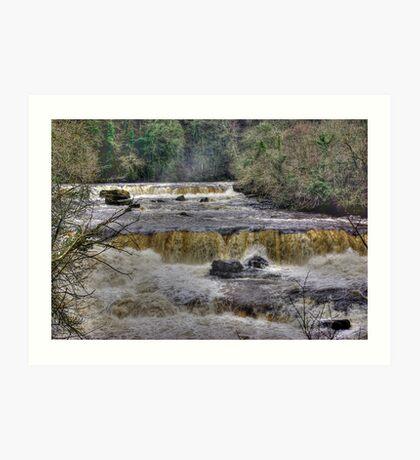 The Falls - River Ure Art Print