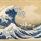 Die große Welle - Sydney von Lidra