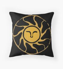 Praise The Sun Throw Pillow