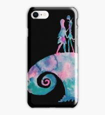 Watercolor Nightmare (black) iPhone Case/Skin