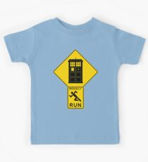 Warning! Time Traveler Ahead!  Kids Clothes
