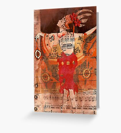 show girl, 2010 Greeting Card