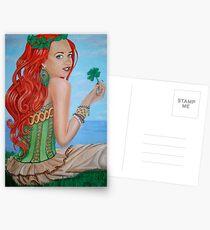Julia's Four Leaf Clover Postcards