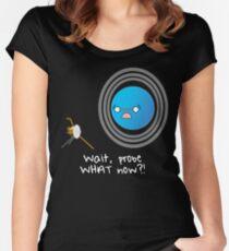 Uranus: Probe What Now? Women's Fitted Scoop T-Shirt