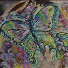 Butterflies in Blue by Faith Coddington Krucina