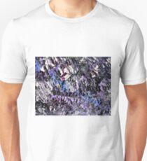 Purple & Black Design  Unisex T-Shirt