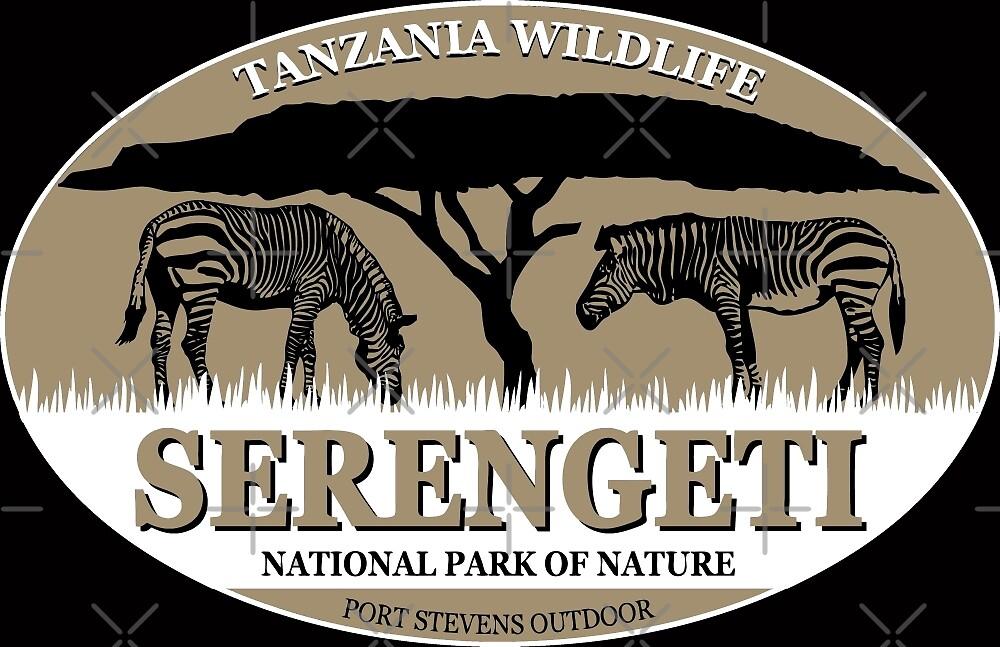 Zebras in Serengeti by Port-Stevens