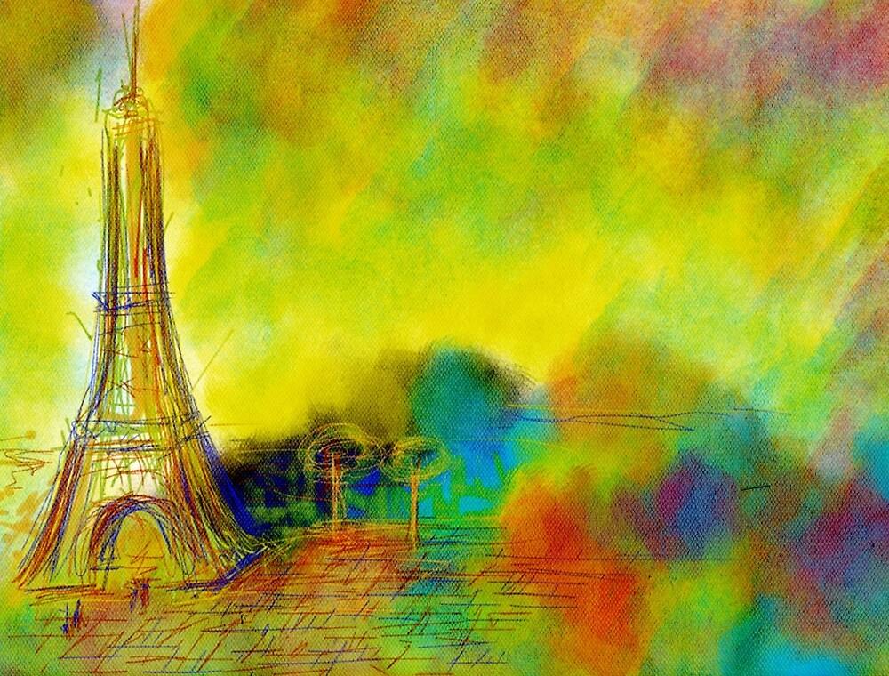 Eiffel by alexandrereis