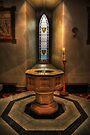 St Barnabas Cathedral - Baptismal Font by Yhun Suarez