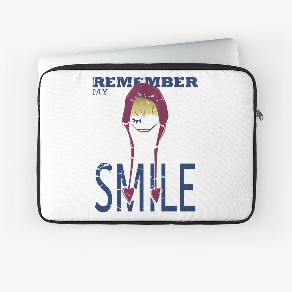 Remember my Smile Laptop Sleeve