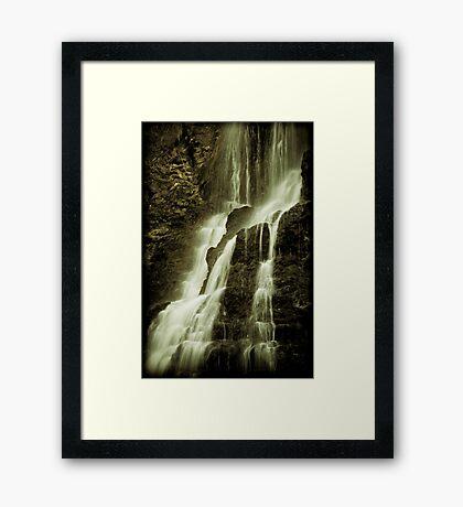 Nelson Falls 3 Framed Art Print