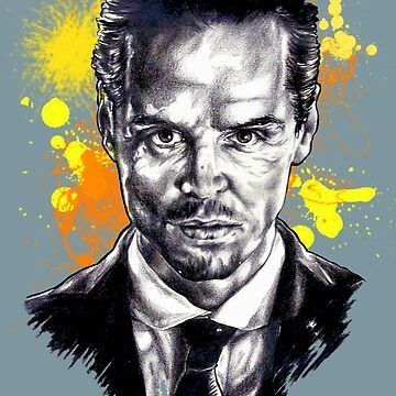 Jim Moriarty + paint by downeymore