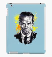 Jim Moriarty + paint iPad Case/Skin