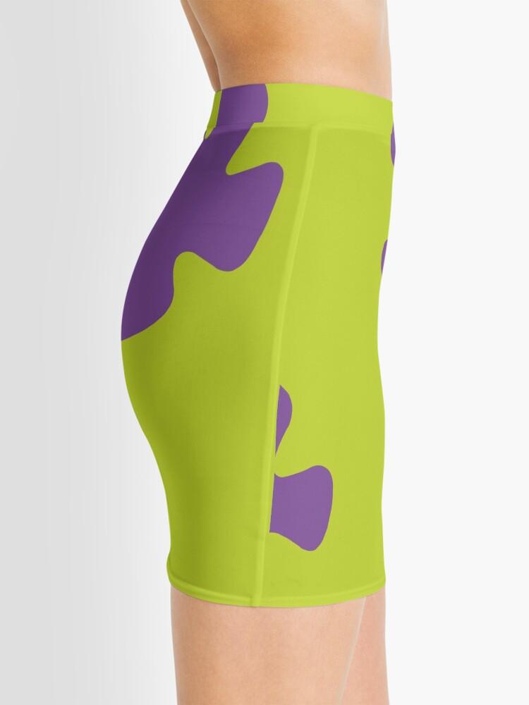 Alternate view of Spongebob Flower Pants Mini Skirt