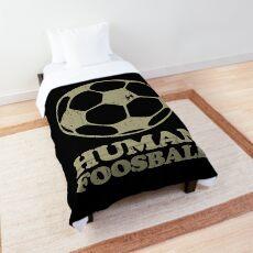 Human Foosball  Comforter