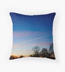 Beautiful Cheshire Sunset Throw Pillow