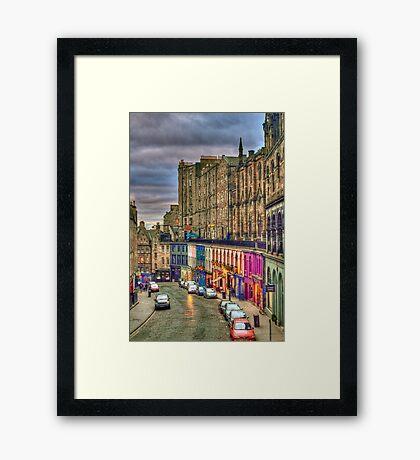 Victoria Street Framed Print