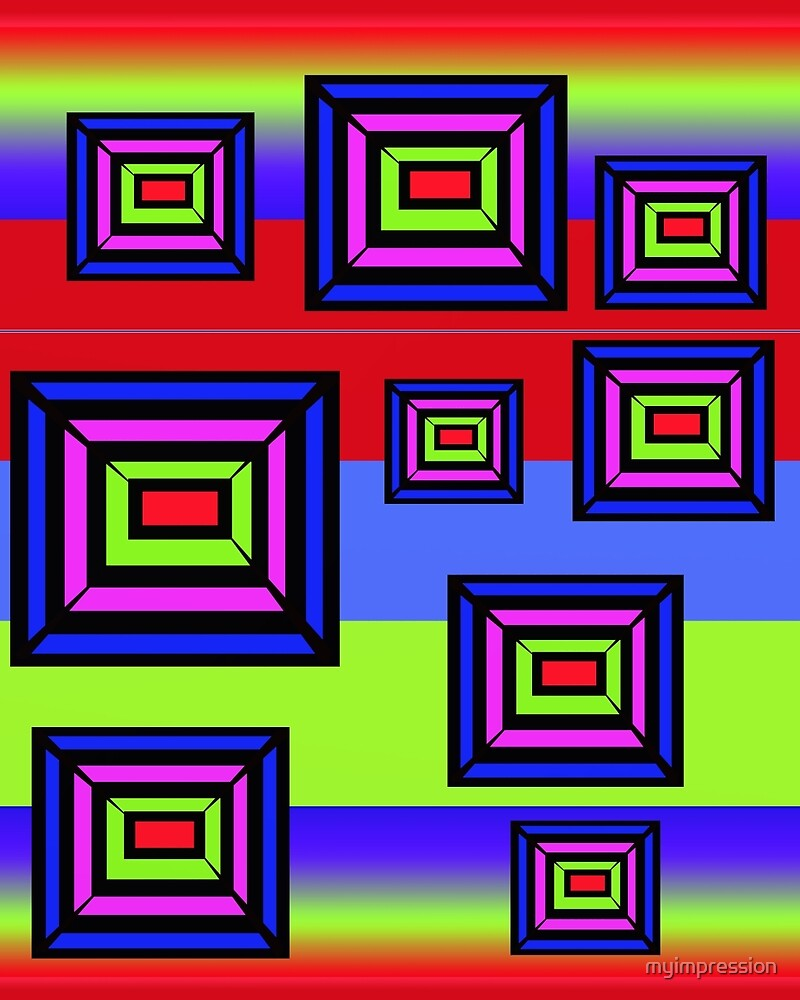 Bright Rectangles  by myimpression