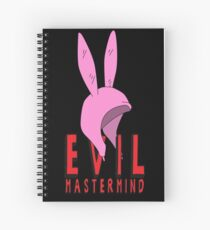 Evil Mastermind Spiral Notebook