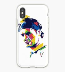 Roger Federer art iPhone Case