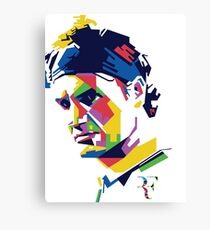Roger Federer art Canvas Print
