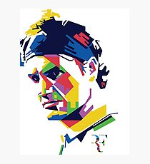 Roger Federer art Photographic Print