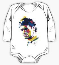 Roger Federer art One Piece - Long Sleeve