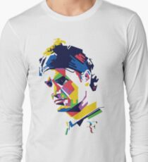 Roger Federer art Long Sleeve T-Shirt
