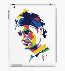 Roger Federer art iPad Case/Skin
